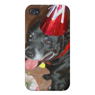 Oldie But Goodie Birthday Dog iPhone 4 Cases