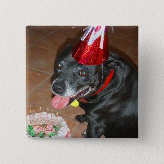 Oldie But Goodie Birthday Dog Pinback Button