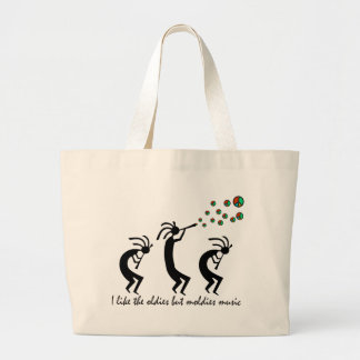 Oldies but Moldies Large Tote Bag
