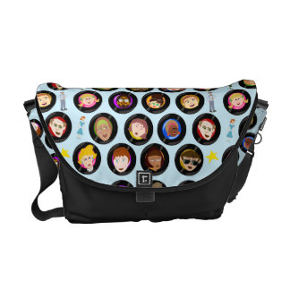 Oldies Hit Parade Courier Bag