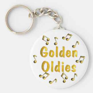 Oldies Music Keychain