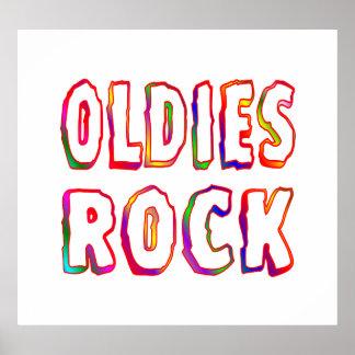 Oldies Rock Poster