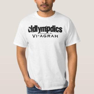 Oldlympdics, Sponsored By T-Shirt