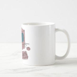 oldmachine CoPy declining computer Coffee Mug