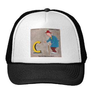 Oldman & The C: Rick London Funny Gifts Trucker Hat