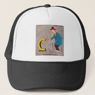 Oldman & The C: Rick London Funny Gifts Trucker Hat