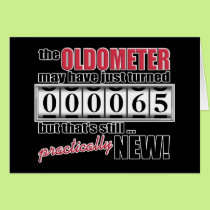 Oldometer Birthday Card