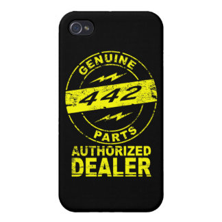Olds 442 Genuine Parts iPhone Case iPhone 4/4S Covers