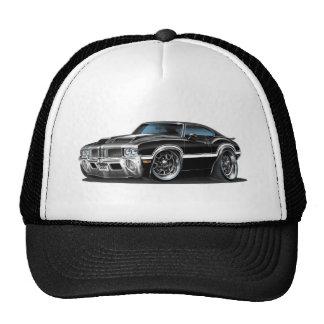 Olds Cutlass 442 Black Car Trucker Hat