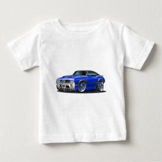 Olds Cutlass 442 Blue Car Baby T-Shirt