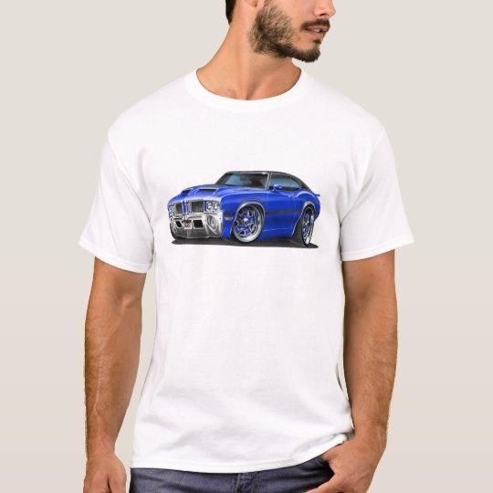 Olds Cutlass 442 Blue Car T-Shirt