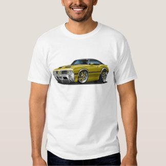 Olds Cutlass 442 Gold Car T Shirt