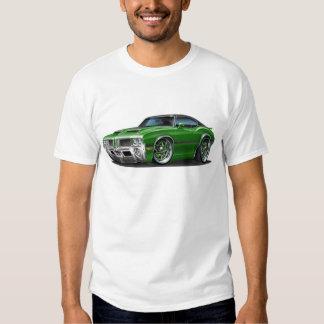 Olds Cutlass 442 Green Car Tee Shirt