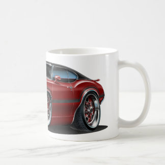 Olds Cutlass 442 Maroon Car Coffee Mug