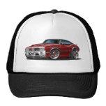Olds Cutlass 442 Maroon Car Trucker Hat