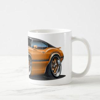 Olds Cutlass 442 Orange Car Classic White Coffee Mug