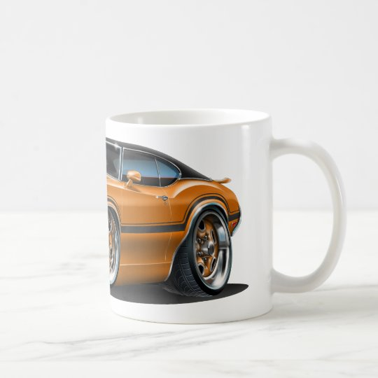 Olds Cutlass 442 Orange Car Coffee Mug