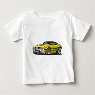 Olds Cutlass 442 Yellow car Baby T-Shirt