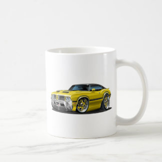 Olds Cutlass 442 Yellow car Coffee Mug