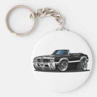 Olds Cutlass Black Convertible Keychain