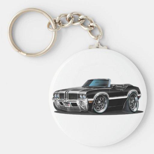 Olds Cutlass Black Convertible Keychains