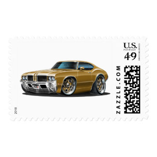 Olds Cutlass Brown Car Postage