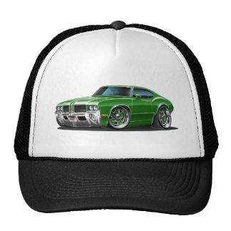 Olds Cutlass Green Car Trucker Hat
