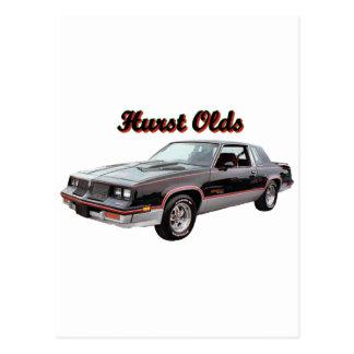 Olds:  Hurst Postcard
