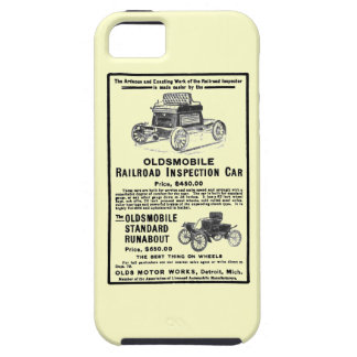 Olds Railroad Inspection Car iPhone 5 Cases