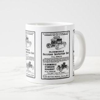 Olds Railroad Inspection Car Jumbo Mugs