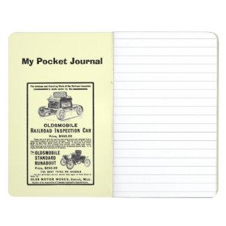 Olds Railroad Inspection Car Pocket Journal