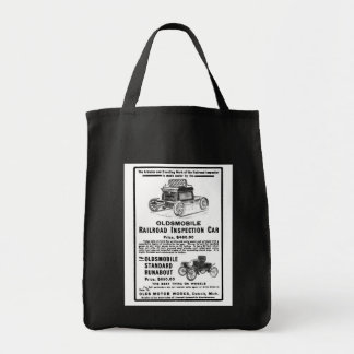 Olds Railroad Inspection Car Tote Bag