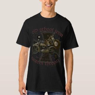Oldschool iron american chopper more biker vintage T-Shirt