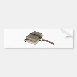 OldSchoolBooks071809 Bumper Sticker