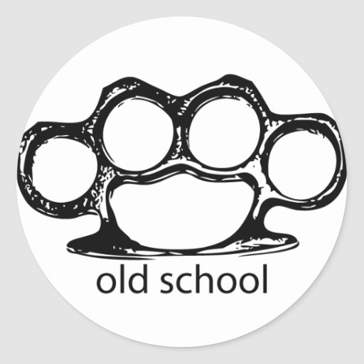 OldSchoolKnucks Etiqueta