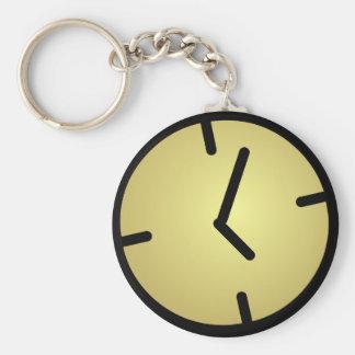 Oldskool Clock Keychain