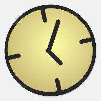 Oldskool Clock Stickers