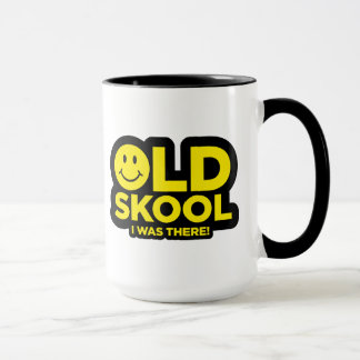 Oldskool - I Was There - Rave Acid Smiley Mug