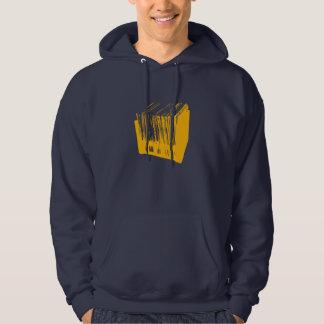 Oldskool Vinyl Records Hooded Sweatshirt