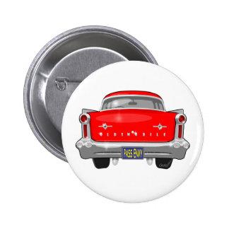 Oldsmobile 1958 88 pin redondo de 2 pulgadas