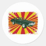 Oldsmobile 1970 442 pegatina redonda