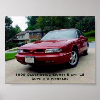 Oldsmobile 1999 ochenta y ocho LS Póster