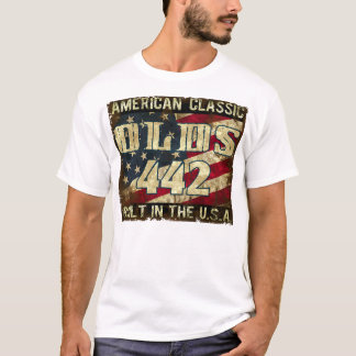 Oldsmobile 442 - Classic Car Built in the USA T-Shirt