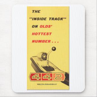 Oldsmobile 442 - vintage folder page reproduction mouse pad