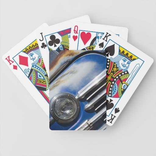 Oldsmobile Bicycle Playing Cards