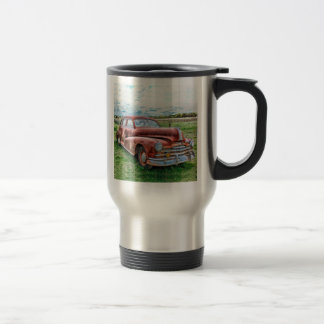 Oldsters Classic Car Vintage Automobile Old Rusty 15 Oz Stainless Steel Travel Mug