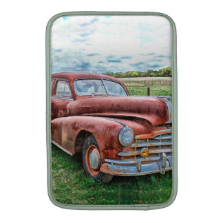 Oldsters Classic Car Vintage Automobile Old Rusty MacBook Sleeves