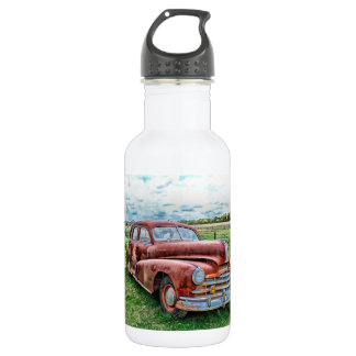 Oldsters Classic Car Vintage Automobile Old Rusty 18oz Water Bottle
