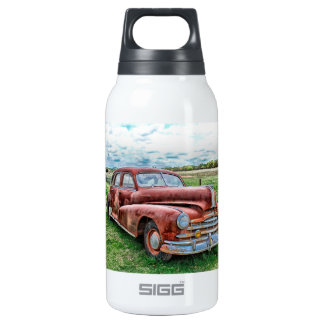 Oldsters Classic Car Vintage Automobile Old Rusty 10 Oz Insulated SIGG Thermos Water Bottle
