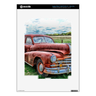 Oldsters Classic Car Vintage Automobile Old Rusty Decal For iPad 3